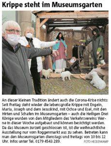Ruhrnachrichten Ausgabe 05.12.2020 Lokalteil Werne
