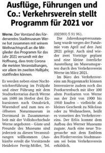 Ruhrnachrichten Ausgabe vom 04.12.2020 Lokalteil Werne