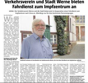 Ruhrnachrichten Werne Ausgabe 16.02.2021