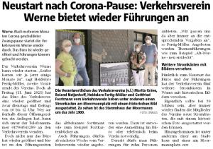Ruhrnachrichten Ausgabe Werne vom 11. Juni 2021