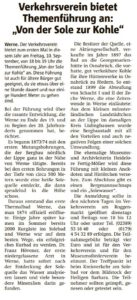 Ruhrnachrichten Ausgabe Werne 27. August 2021