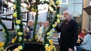 Eröffnung des Osterbrunnen am 29. März 2019